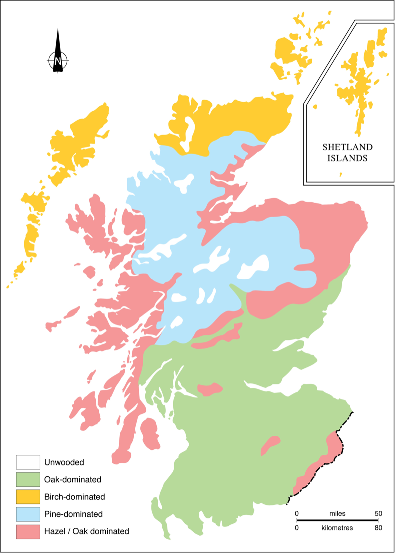 Map Of Uk Highlands.Conquering The Highlands A History Of The Afforestation Of The
